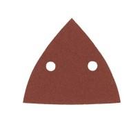 Шлифбумга треугольная под велькро AEG ABR DELTA G120 P10A