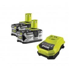 ONE+ / комплект 2-x Li-Ion аккумулятора+ЗУ Ryobi RBC 18 LL 40