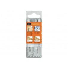Набор пилок для лобзика AEG JIG BL (12 PCS.)