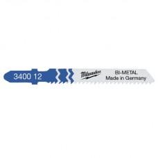 Полотно 55x2,0 T 118 BF для лобзика по металлу биметаллическое MILWAUKEE