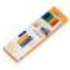 Клеевые стержни STEINEL 7 разноцветные (16 шт)
